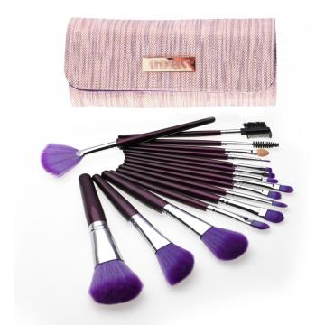 16Pcs high end makeup brushes private label professional