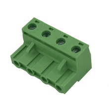 7.62MM pitch 4pin female pluggable terminal block