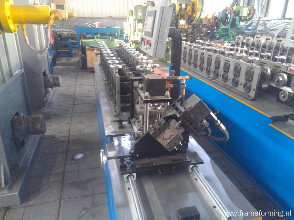 Omega Channel Cold Rollforming Machine