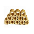 M3 Brass Mobile Insert Knurled Nut