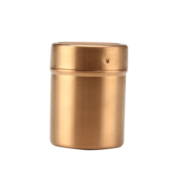 GoldSalt Shaker for Coffee Latte Art or BBQ