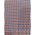T/C(20%Cotton80%Polyester)Yarn-dyed Dobby Plaid Fabric