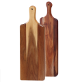 Long wooden chopping board
