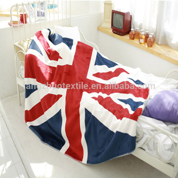 super soft microfiber flag blanket reversible throw blanket
