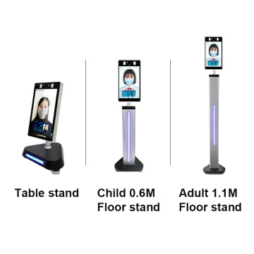 Face Recognition Thermal Camera Scanner Table Mount Floor Mounting Brackets Stand Metal