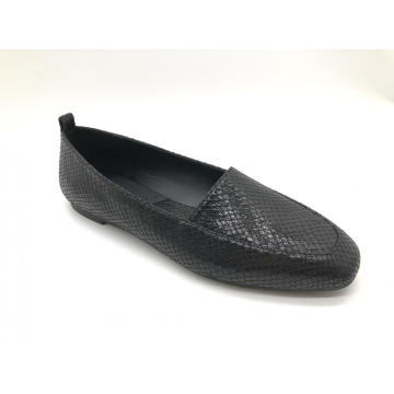 Women's Classic Square Toe Slip On Flats Shoes