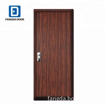 New flush panel steel door