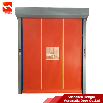 PVC Roller Shutter Self Recovery High Speed Door