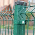 pvc coated welded bending wire mesh fence