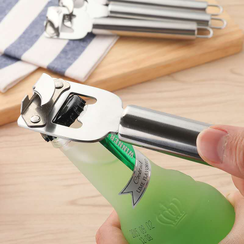 Polished Stainless Steel Bottle Opener