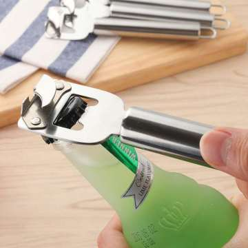 18/8 Bright Stainless Steel Bottle Opener