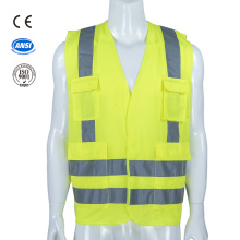 high visibility road traffic reflective safety warning vest
