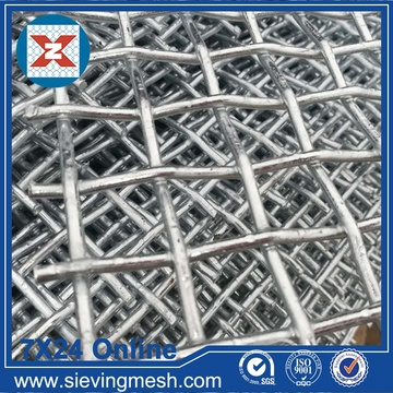 Galvanised Crimped Wire Mesh
