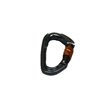 Aluminum Alloy Carabiner Snap Hook with Swivel Buckle