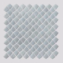 Milky White Irregular Shape Glass Mosaic For Kitchen