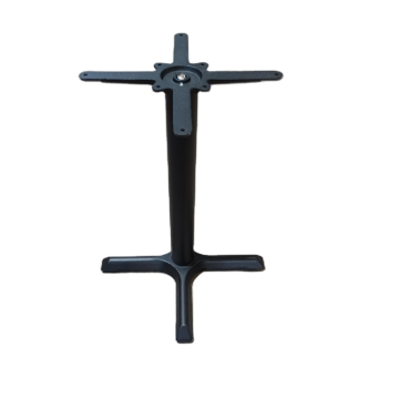 X PRONG CAST IRON RESTAURANT TABLE BASE