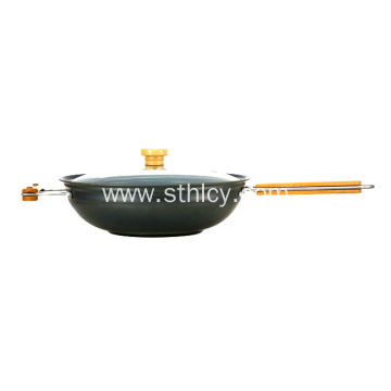 High Quality Healthy Non Stick Wok with lid