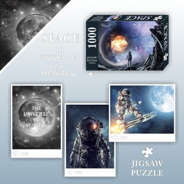 GIBBON 1000 Piece Space Theme Adult Puzzles