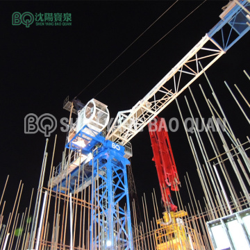 Luffing Tower Crane 8 Ton