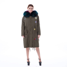 Fashion Pelz Winter Outwear