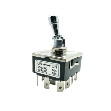 High Current 12 Terminals Electrical Toggle Switches