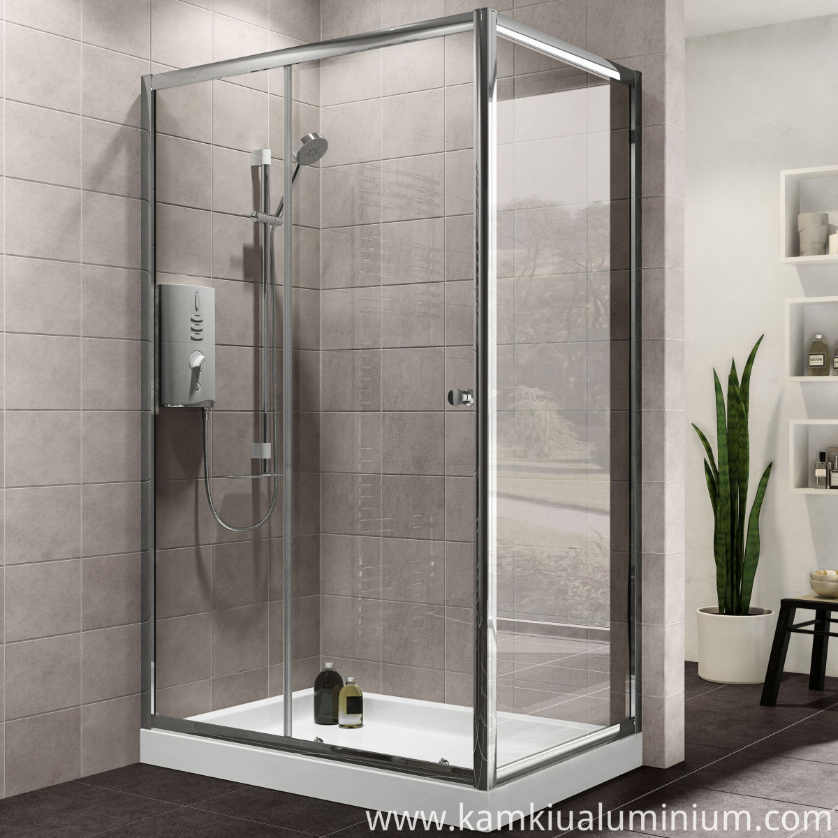 Aluminium Shower Enclosure