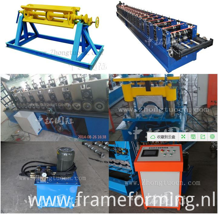 Ridge roll forming machine (24)