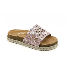 Comfortable Casual  Glitter Hollow  Sandals Slippers