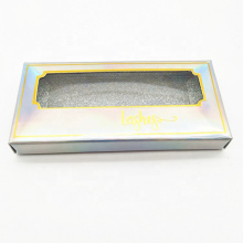 Wholesale Laser Paper Eyelash Packaging Sleeve Box