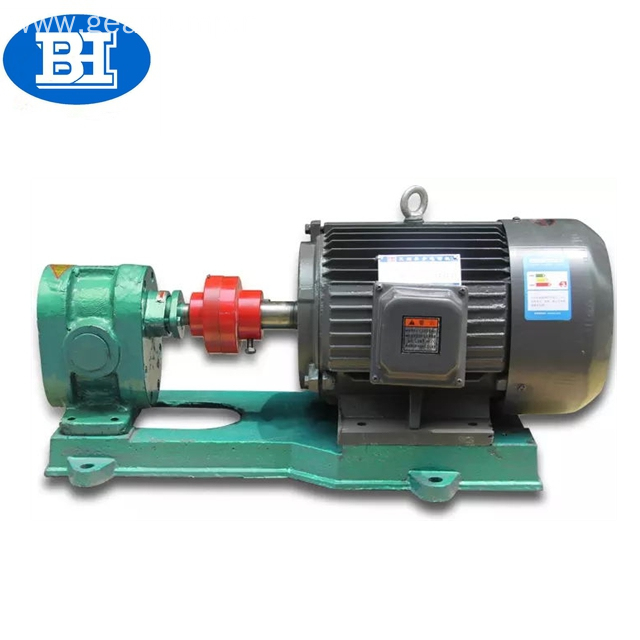 Hot lube thermal bitumen transfer gear oil pump