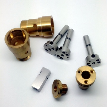 Precision brass pistion parts