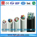 PVC Insulated Sheathed Flat Control Cable Low Voltage For Construction