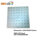 P25 Disco DMX512 RGB LED Panel Lights