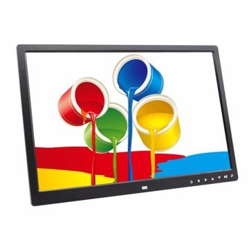17inch 1440*900 HD Digital Photo Frame High Resolution Support Multi-language LED Screen Frame Photo Album US/EU Plug