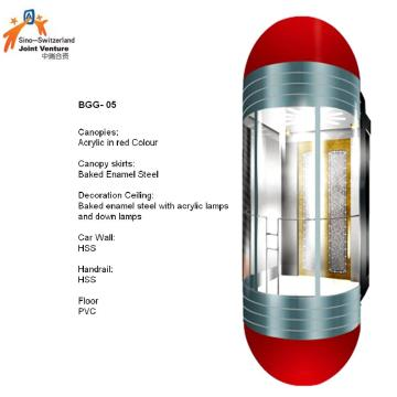 Capsule Safety Glass Elevator with ARD