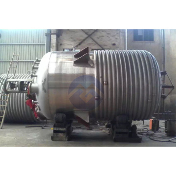 High Quality External Pipe Steam Heating Reaction Vesse
