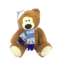 Plush Teddy Christmas Day