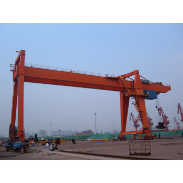 60ton wholesale cheap electric double beam gantry crane