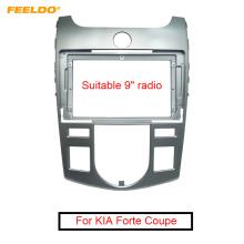 "FEELDO Car Stereo Audio 2Din Fascia Frame Adapter for KIA Forte Coupe 2009 9"" Big Screen CD/DVD Player Dash Mount Trim Kit"