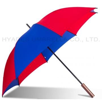Lightweight Windproof Colored Manual Open Straight Umbrella