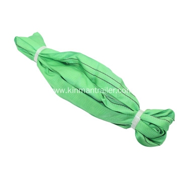 Green Round Slings For Lifting