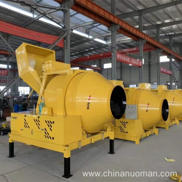 factory price of concrete mixer machine with lift