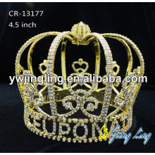 Gold Plated Full Round Boy Crown