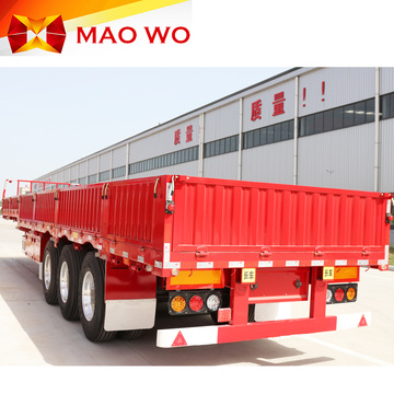 40-60 Ton Cargo Side Wall Semi Trailer