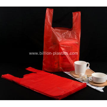 Plastic Shopping Carrier Bag