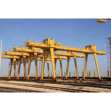 Double trolley gantry crane 200 ton for sale