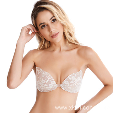 Adhesive Stick On Push Up Strapless Invisible Bra