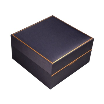 Custom High Quality Christmas Black Flower Gift Box