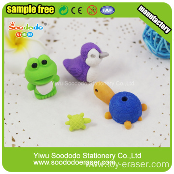 3d Shaped Eraser,stationery eraser product
