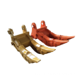 Soft stone excavator spares double-toothed Excavator Ripper
